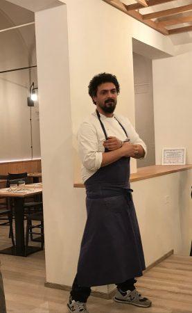 Pier Giorgio Parini, chef del Bio's Kitchen Bologna