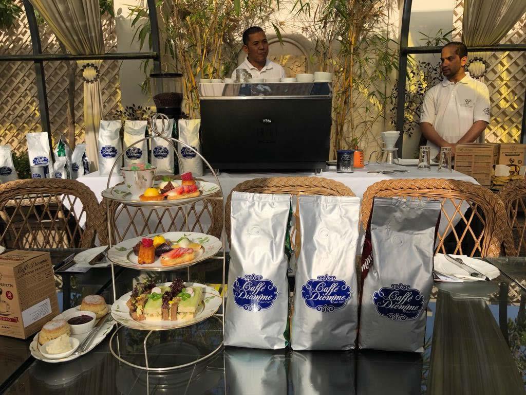 Diemme Caffè partner di Culinaire & Beyond in Bahrain