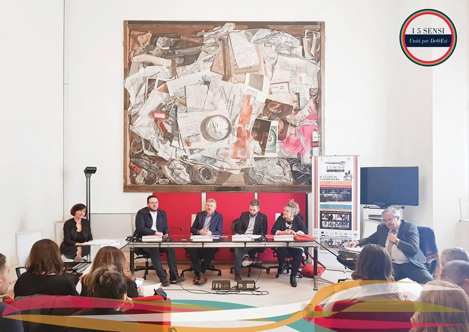 Bologna: I 5 Sensi - Uniti per De@Esi 2018
