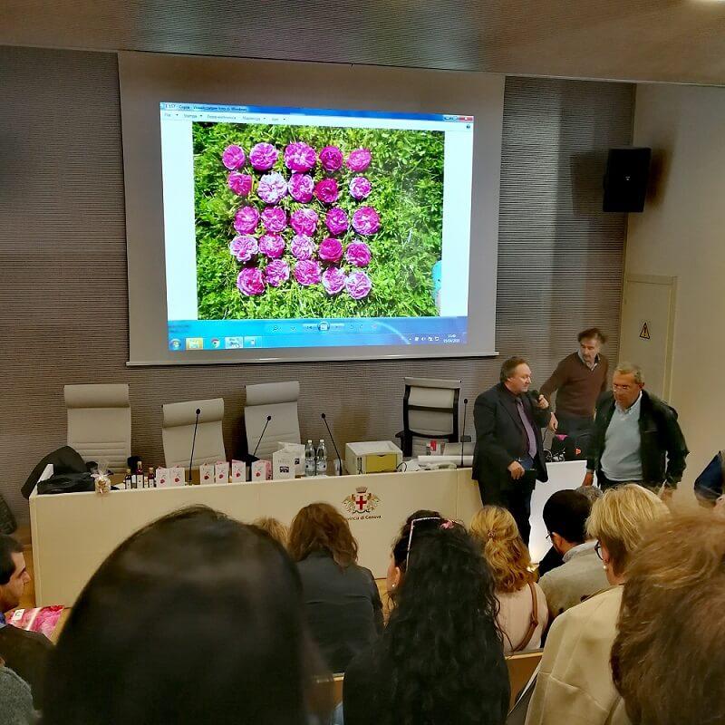 Il gusto e la Ragione,Genova: sciroppo di rose