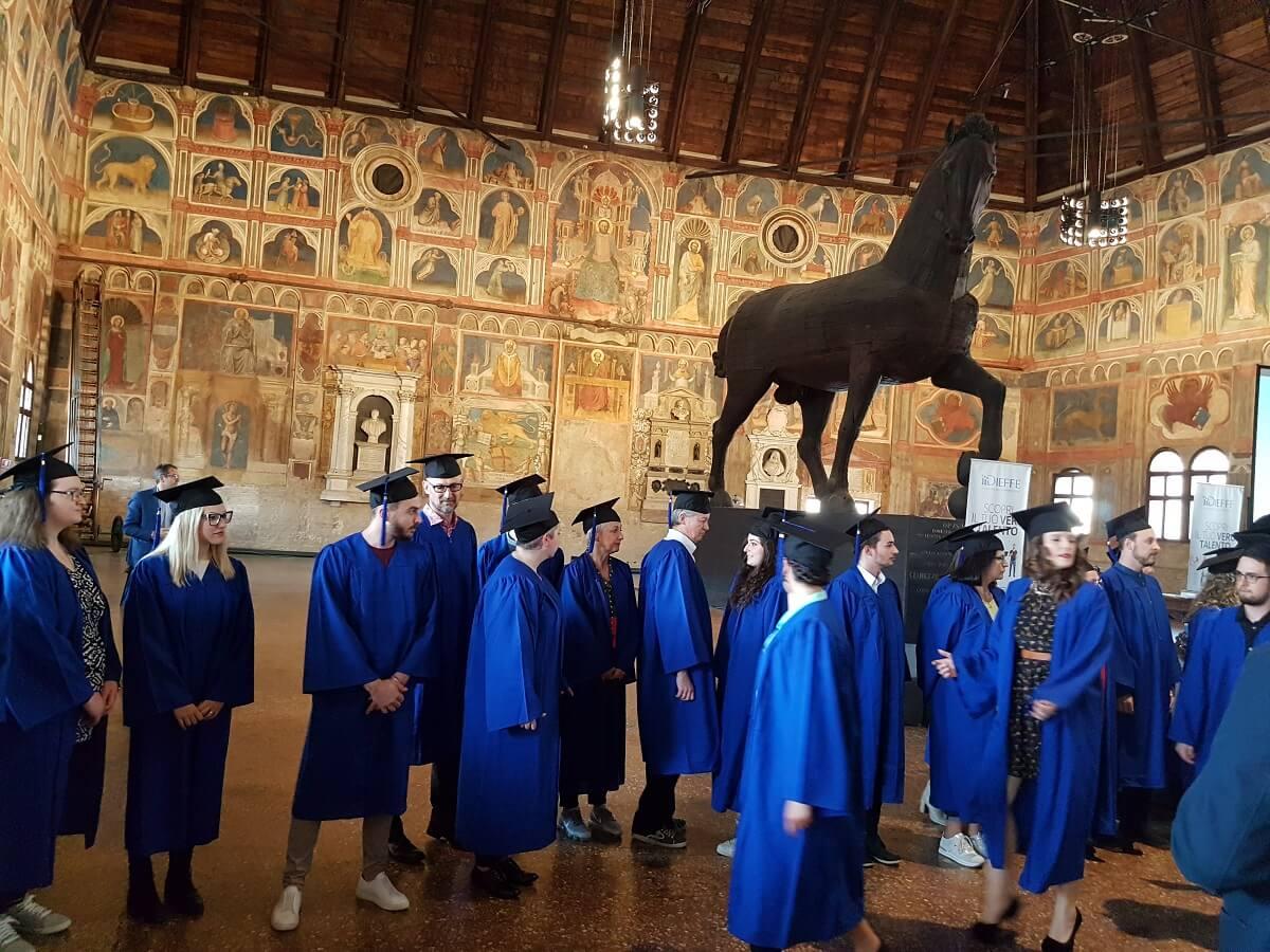 Accademia delle Professioni DIEFFE, a Padova consegnati i Diplomi
