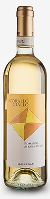 Gallegati - Corallo Giallo Romagna Albana DOCG 2017