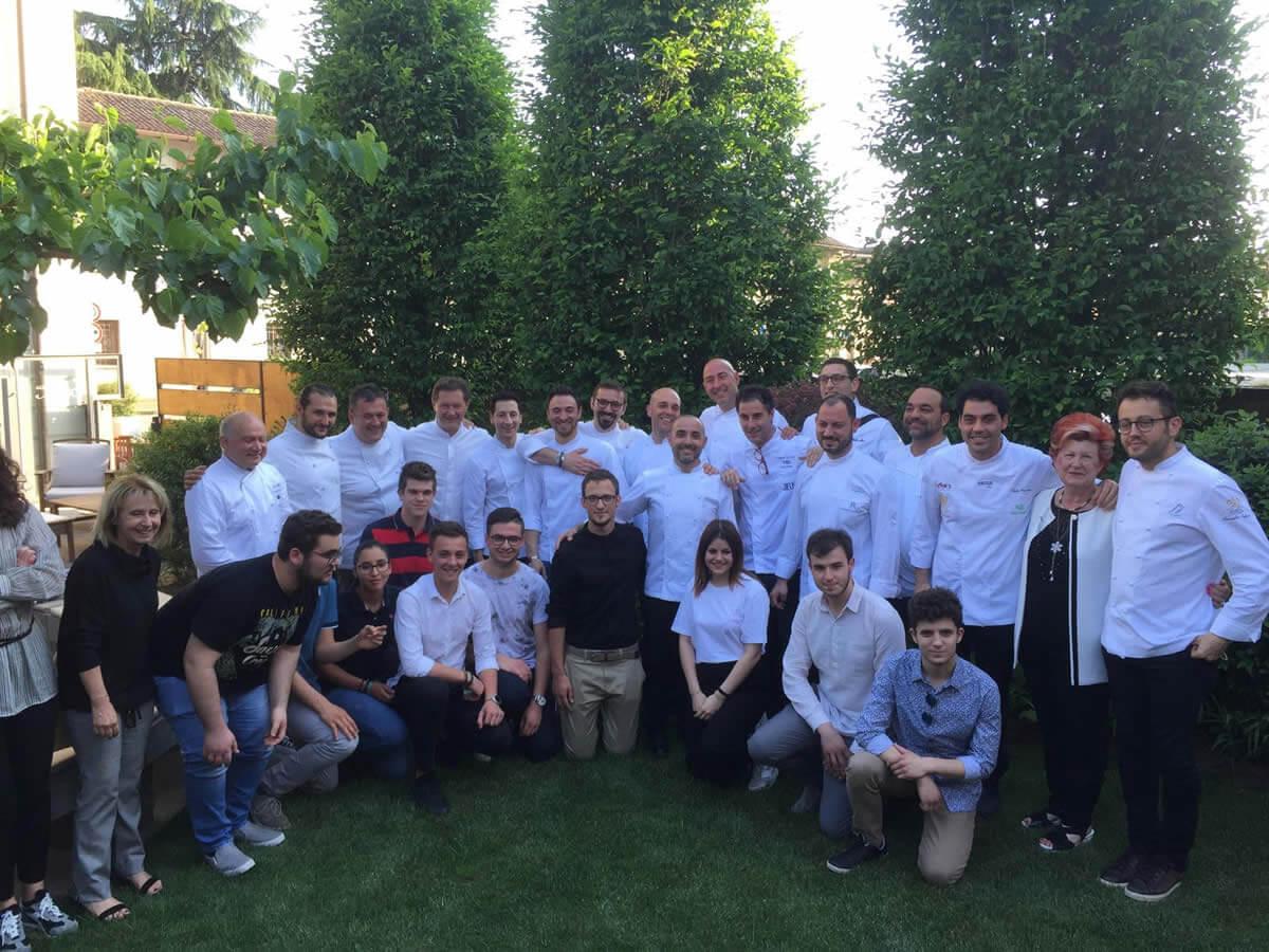 Ristorante Agli Amici Udine, festa dei 130 anni con 13 chef stellati