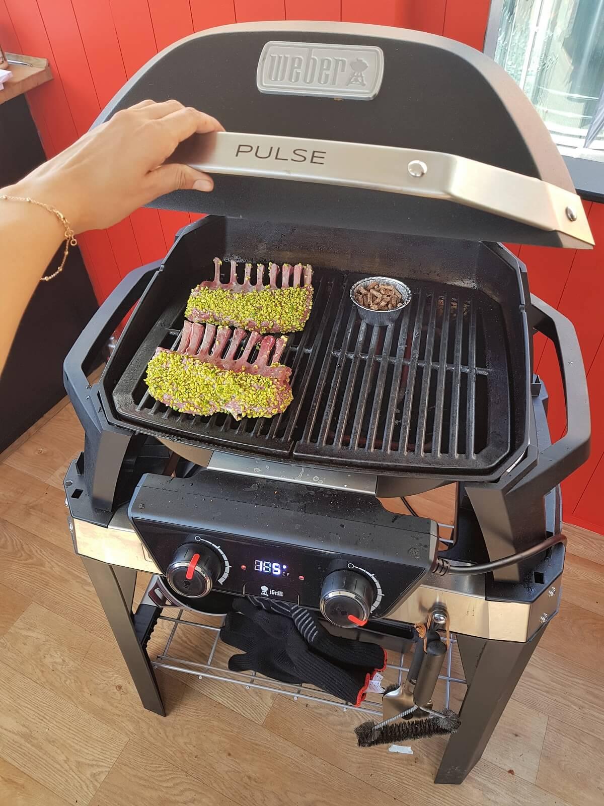 Serie Pulse Weber: barbecue per urban griller