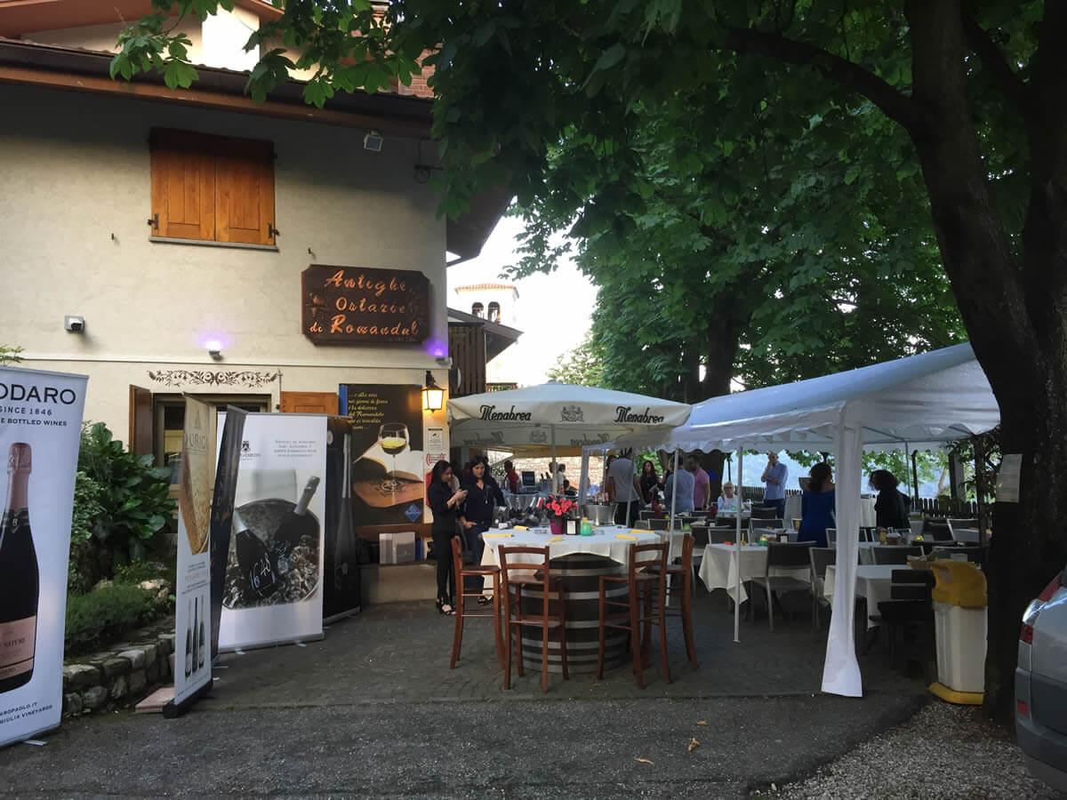 Spumeggiando 2018: all'Osteria di Ramandolo, serata di eccellenze