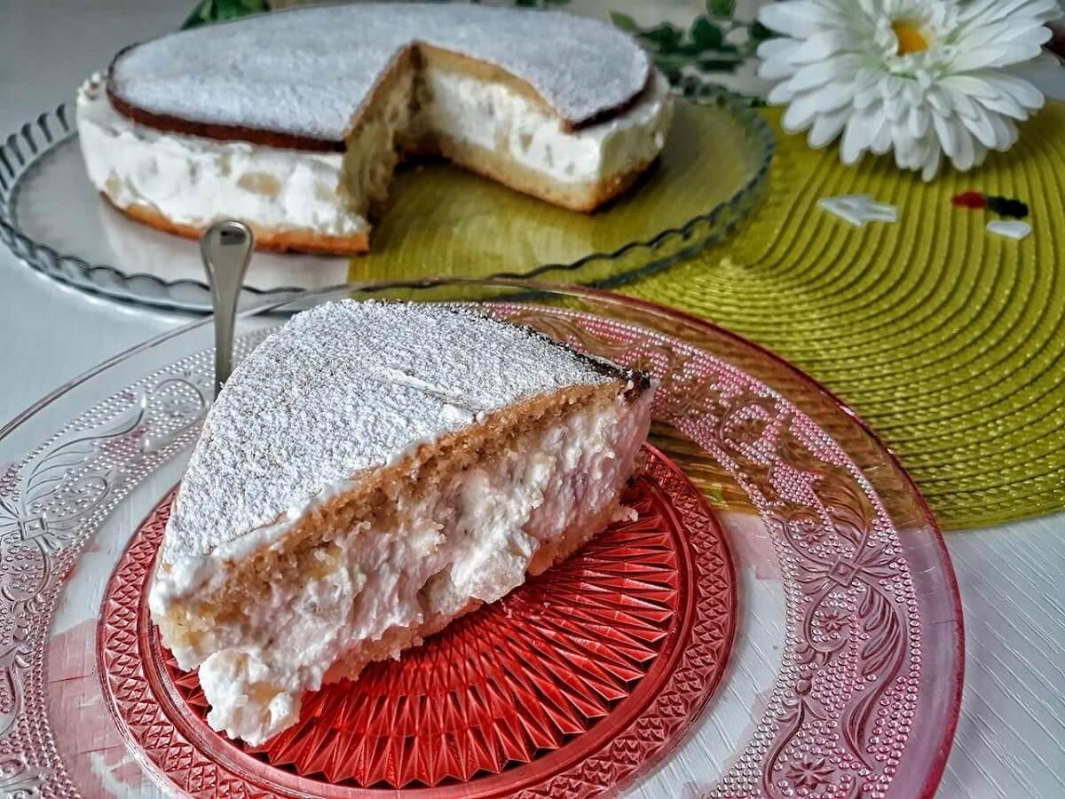 Torta ricotta e pere senza glutine, ricetta Costiera Amalfitana