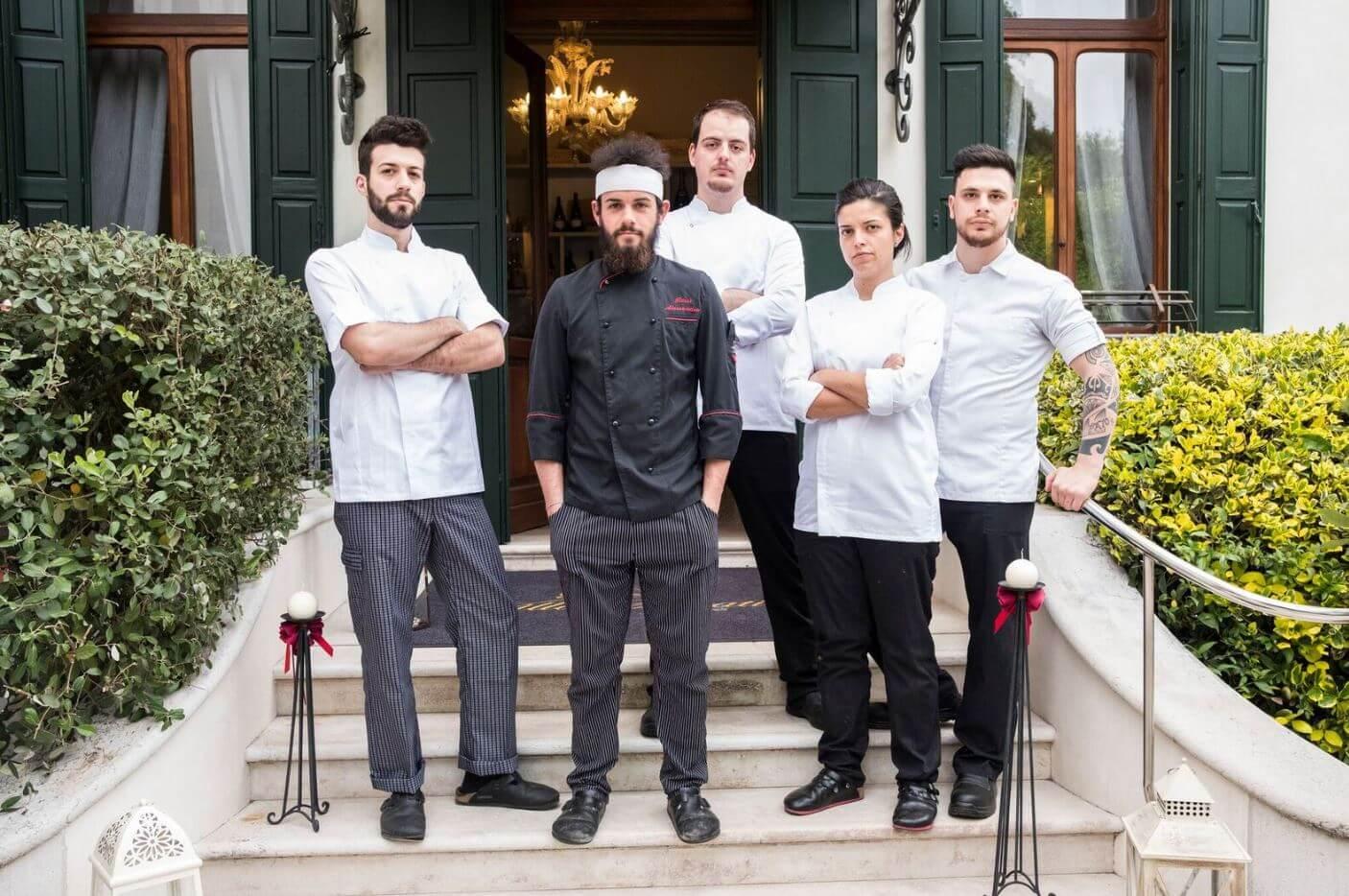 Villa Selvatico e la cucina dello chef stellato Alessandro Rossi