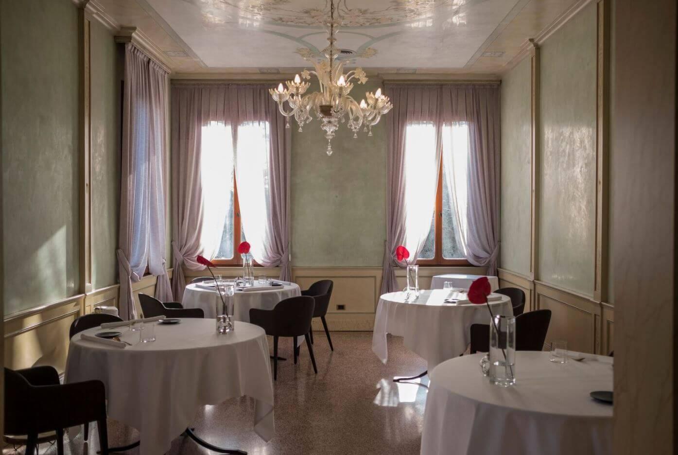 Villa Selvatico a Roncade, il menù dello chef Alessandro Rossi