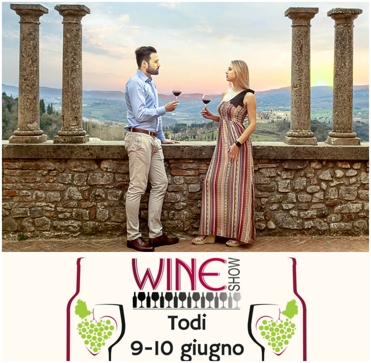Wine Show 2018, a Todi con calice in mano