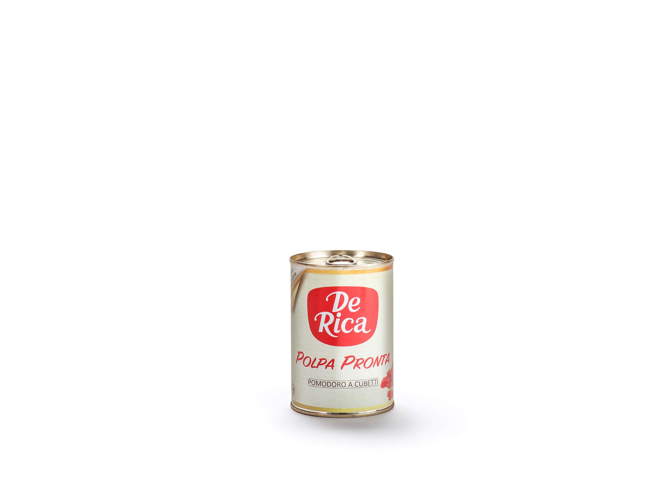 Polpa Pronta De Rica, i cubetti di pomodoro appena colto
