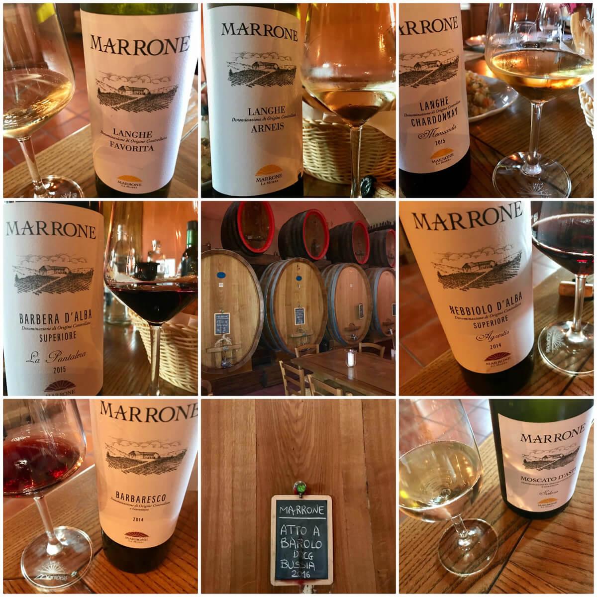 Agricola Gian Piero Marrone: la nostra degustazione di 8 vini