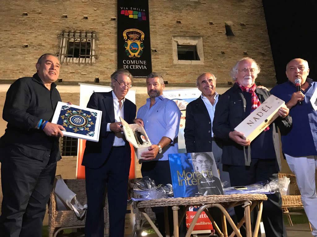Magnum Nadèl di Poderi Morini, in regalo a Moratti e Cucchi