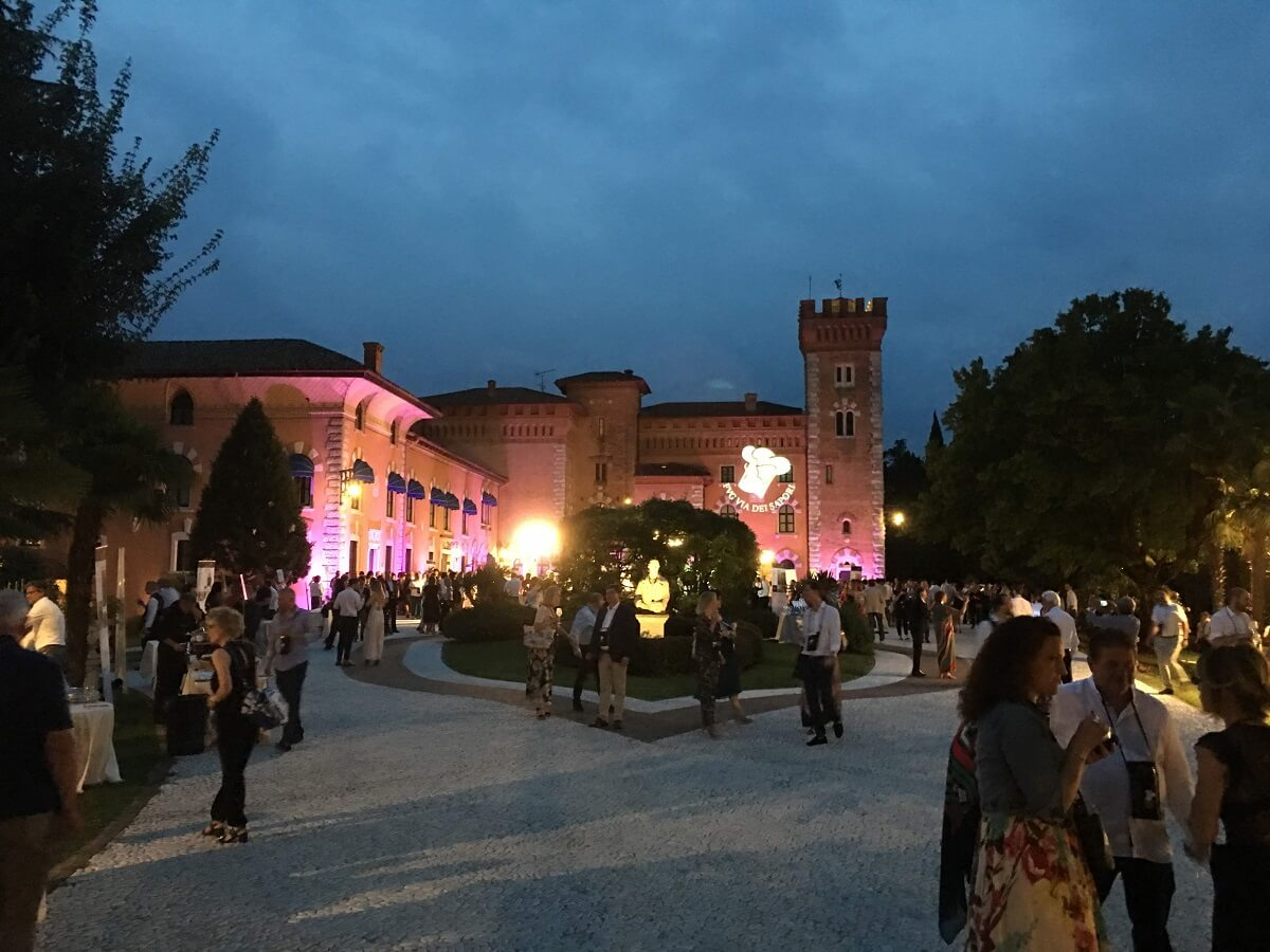 Cena spettacolo al Castello di Spessa con FVG Via dei Sapori