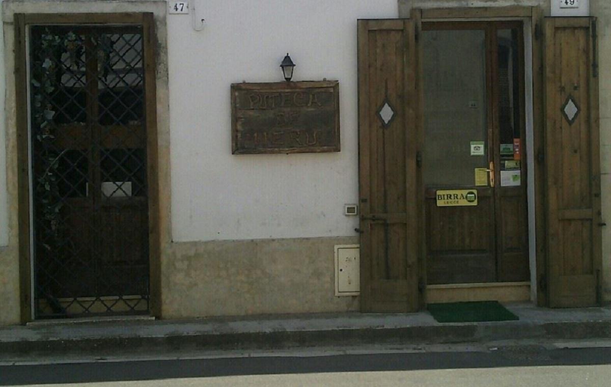Puteca de' mieru a Minervino di Lecce, cucina salentina e non solo