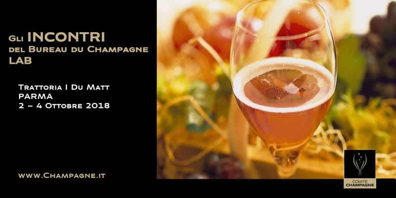 Parma e lo Champagne si incontrano a tavola: date, costo e menù