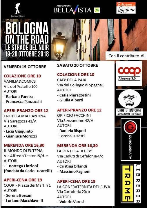 Bologna on the Road - Le strade del noir 2018: date e programma