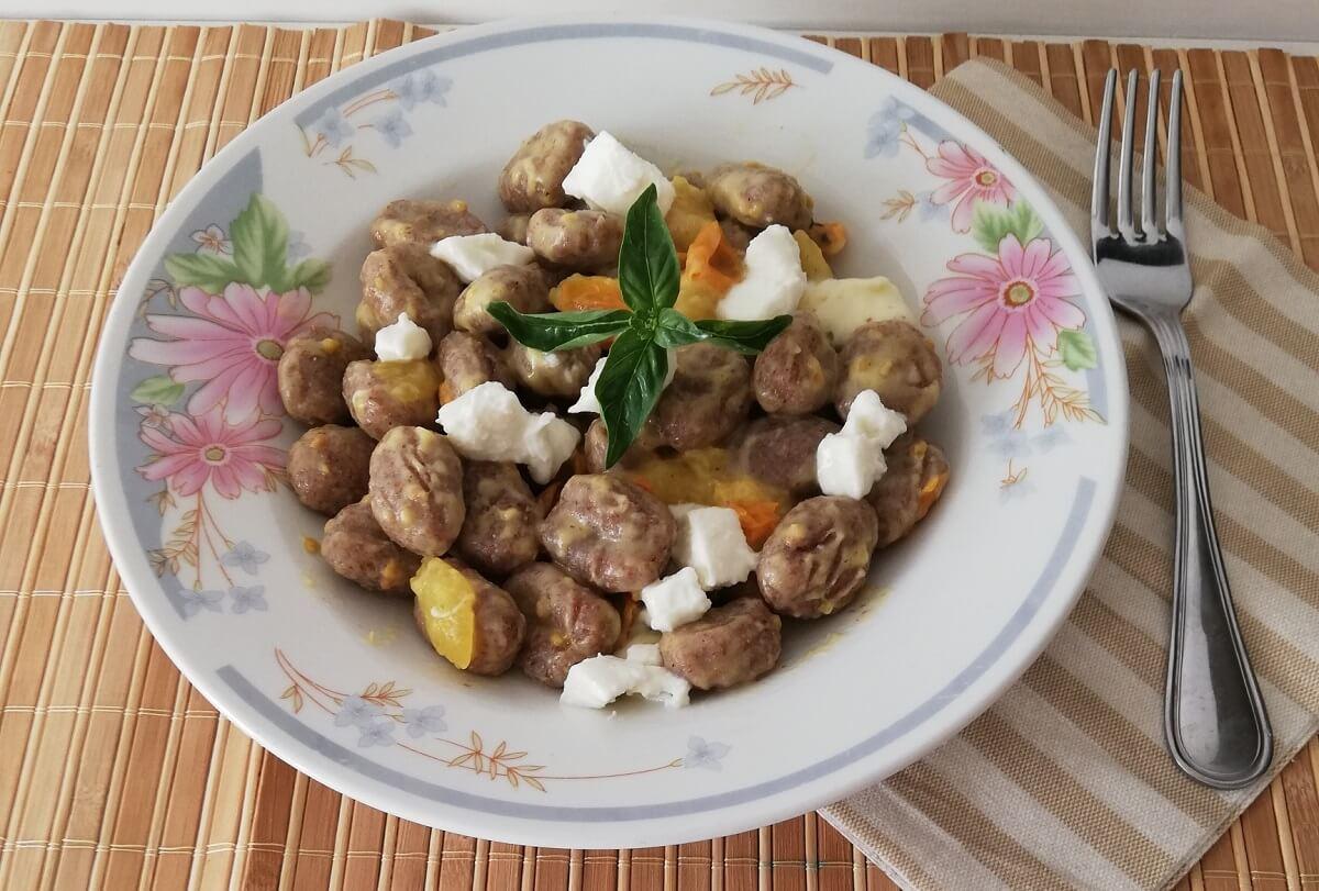 Gnocchi alla finta sorrentina, variante gluten free e superveloce