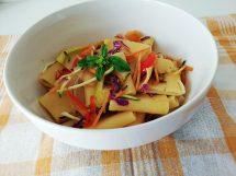 Paccheri mediterranei, una ricetta vegetariana buona e colorata