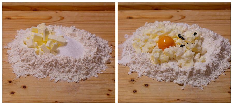 Crostata con crema frangipane e mele, un dessert da provare
