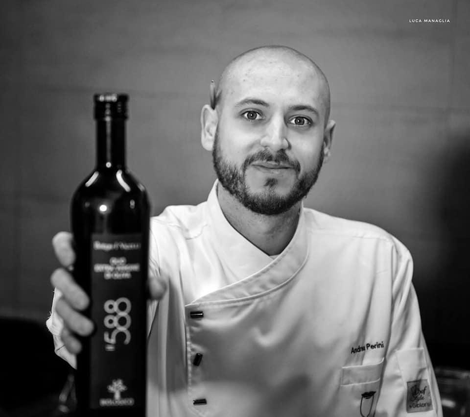 Flos Olei 2019 premia il Ristorante Al 588 e lo chef Andrea Perini