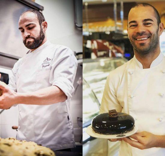 Foggia, Pan Drion di Ennio Facciolla e panettone di Andrea Barile