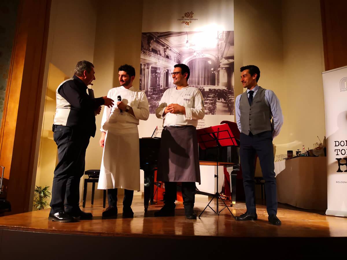 Cena a Teatro - Sapori d'Inverno Bologna