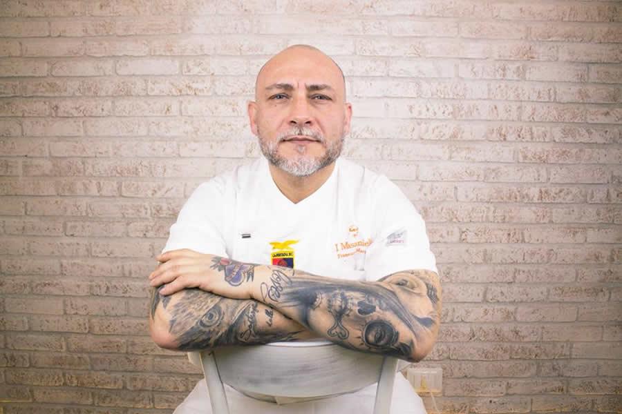 Lo chef Francesco Martucci presente a EGO Lecce