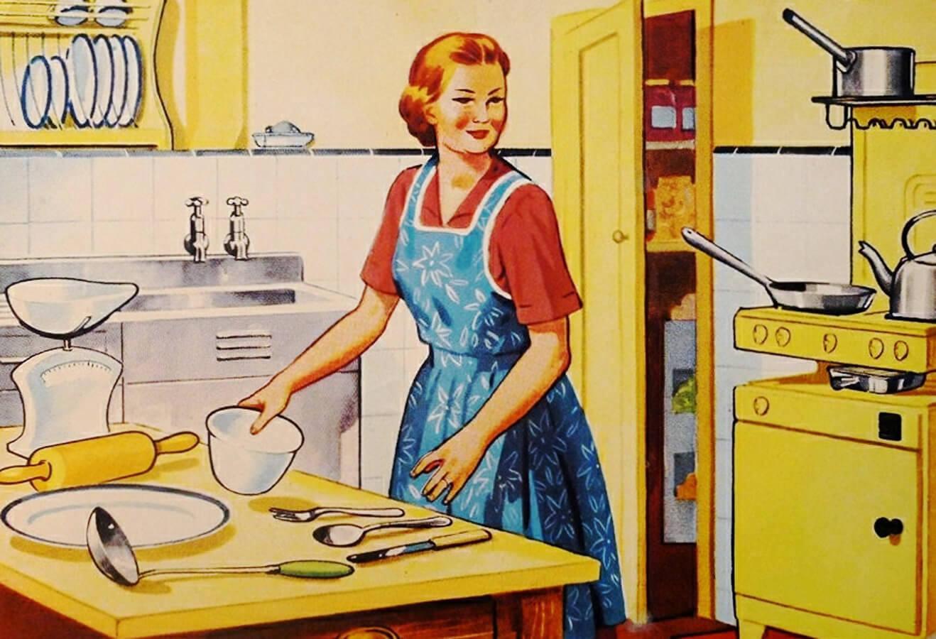 3 tipi di donne in cucina