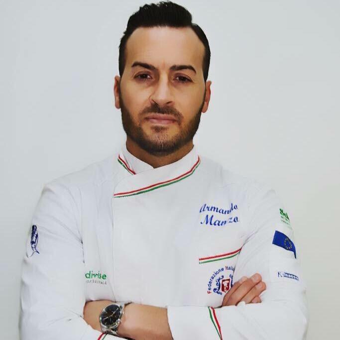Chef Armando Manzo del Ristorante Emozioni