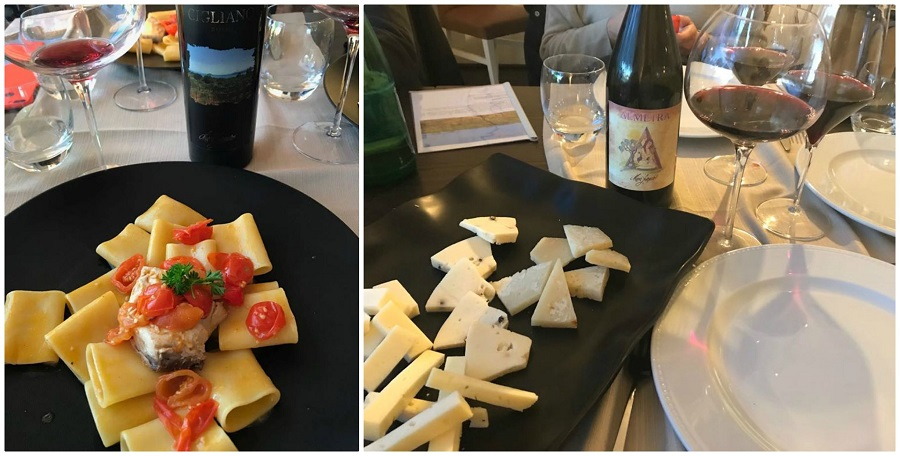 I vini di Maria Furgiero e le degustazioni