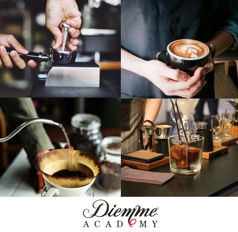 Corsi caffetteria Diemme Academy da marzo 2019