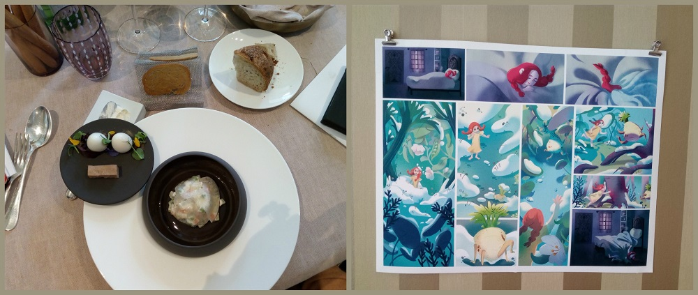 Food&Comics Torino, il fumetto è servito a Les Petites Madeleines
