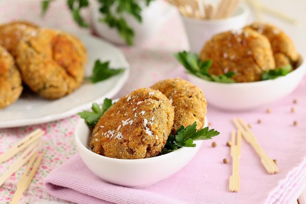 Ricetta delle Polpette vegetariane con spezie e lenticchie