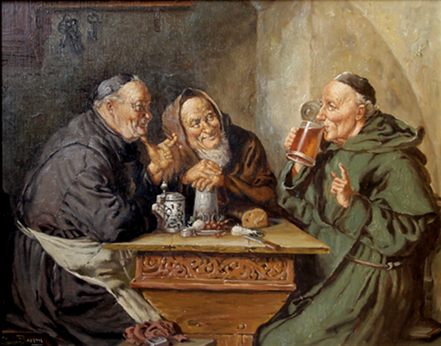 I monaci furono tra i primi produttori di birra