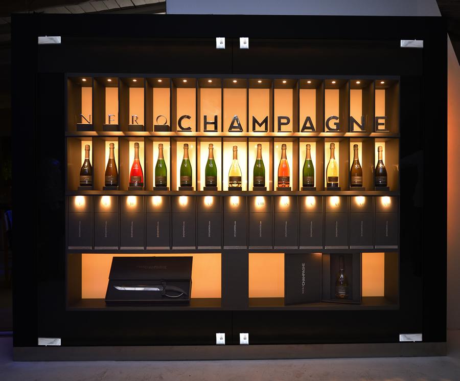 Jeux de Froid della Collezione Nero Champagne