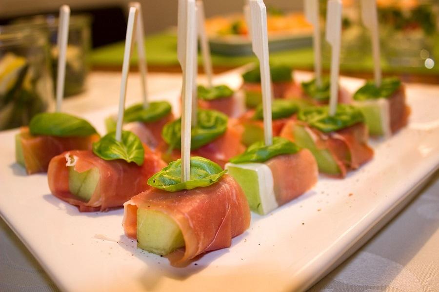 Finger food al ricevimento di nozze