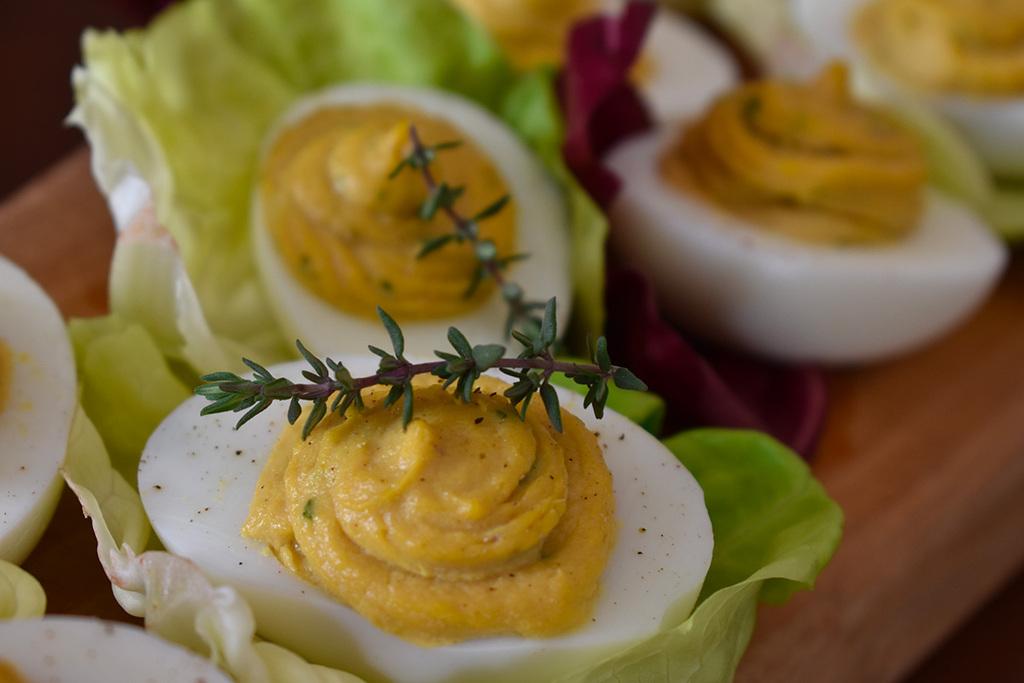 La ricetta delle uova sode farcite