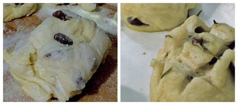 Preparazione del pane dolce pasquale di Firenze