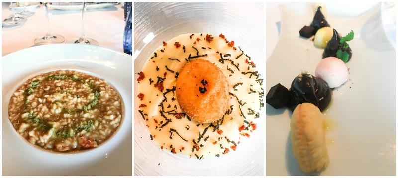 La cucina creativa del Ristorante DAM a Nova Gorica