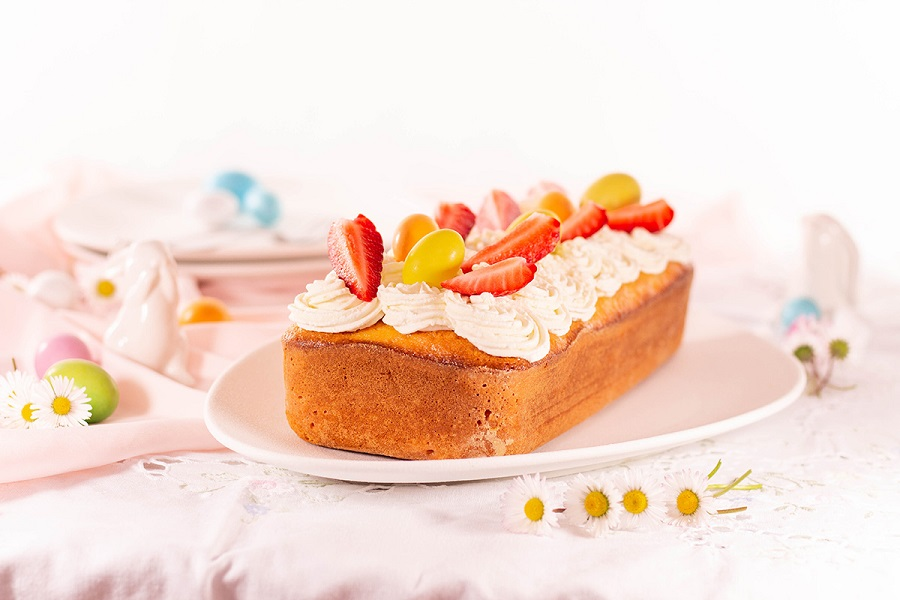 Ricetta facile del Plumcake al limone con sorpresa