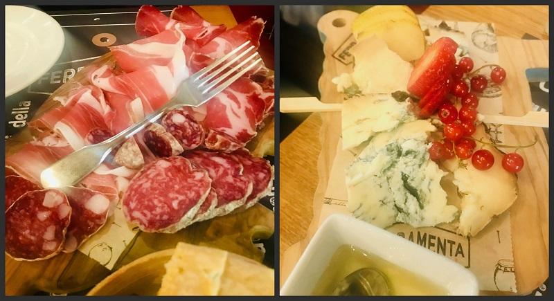 Salumi e formaggi al Ferramenta a Santarcangelo