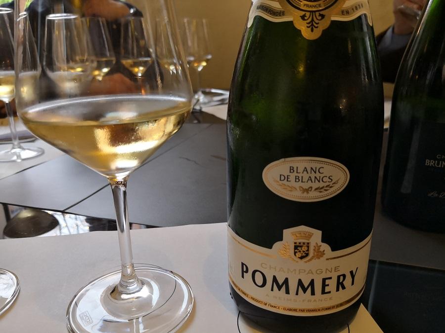 Le Bureau du Champagne a Bologna: il Pommery Blanc de Blancs