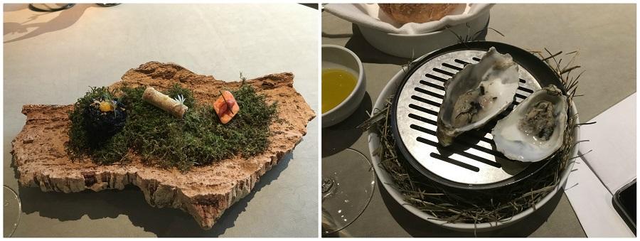 Ostrica al barbecue dello chef Fabrizio Tesse, Ristorante La Rei