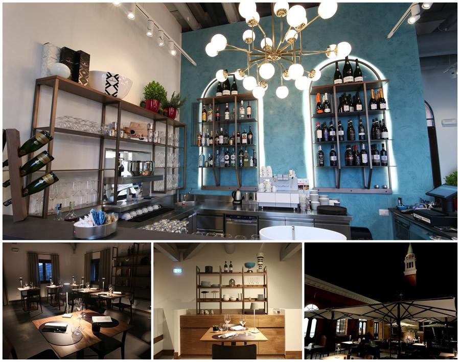 San Giorgio Cafè a Venezia dal menù agli interni