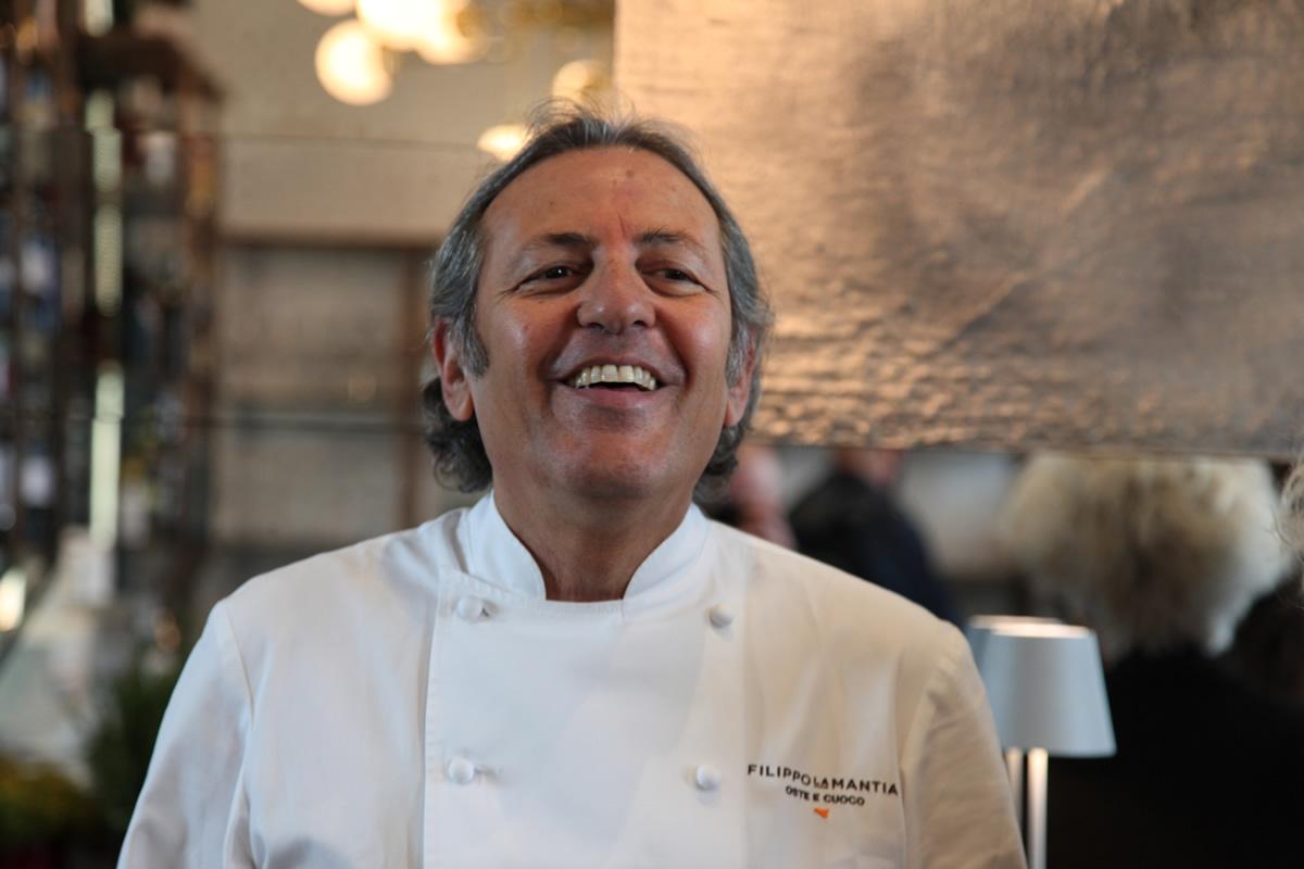 Filippo La Mantia chef al nuovo San Giorgio Cafè a Venezia