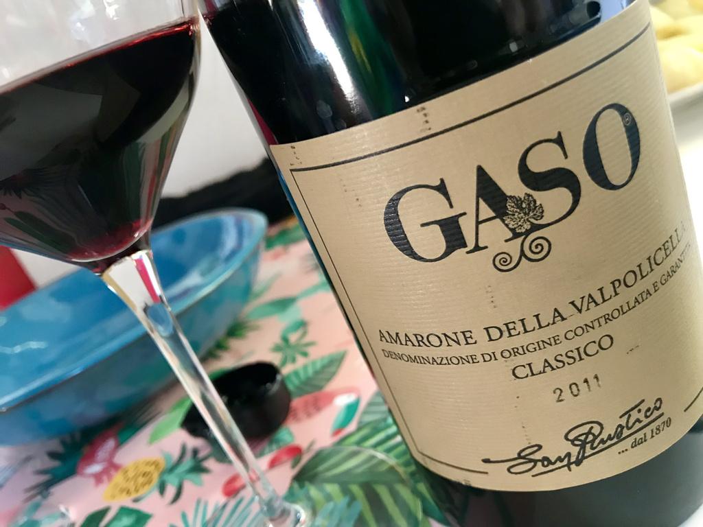 Gaso, Amarone della Valpolicella Classico 2011