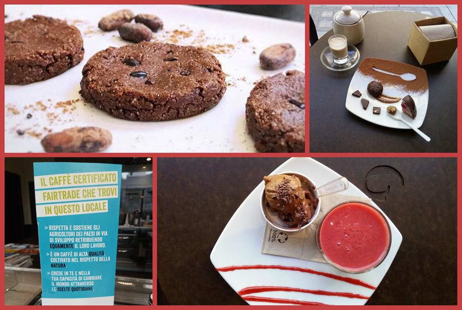 Dolci e gelati vegani e crudisti da Grezzo Raw Chocolate