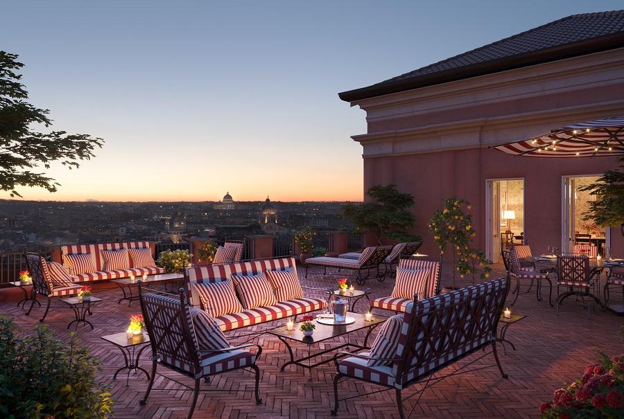 Come si mangia all'Hotel de la Ville Roma