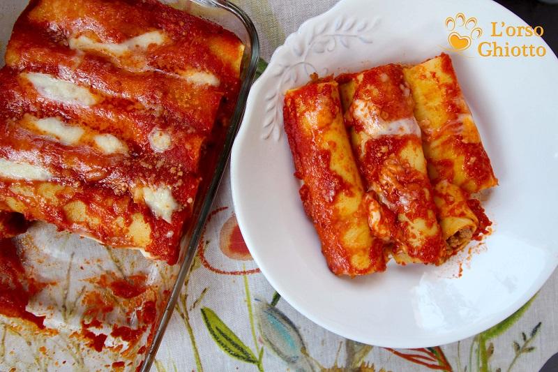 Ricetta cannelloni di carne: Blog L'Orso Ghiotto