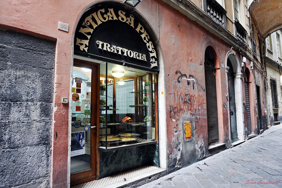 Mangiare a Genova: Trattoria sa' Pesta